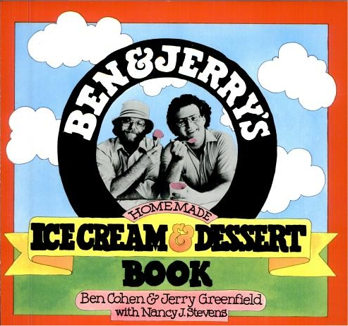 Ben and Jerry Ice Cream-Dessert Book