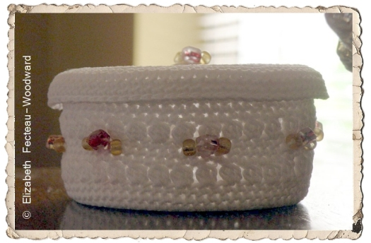 Crocheted Trinket Basket | Say Very Sweet Things